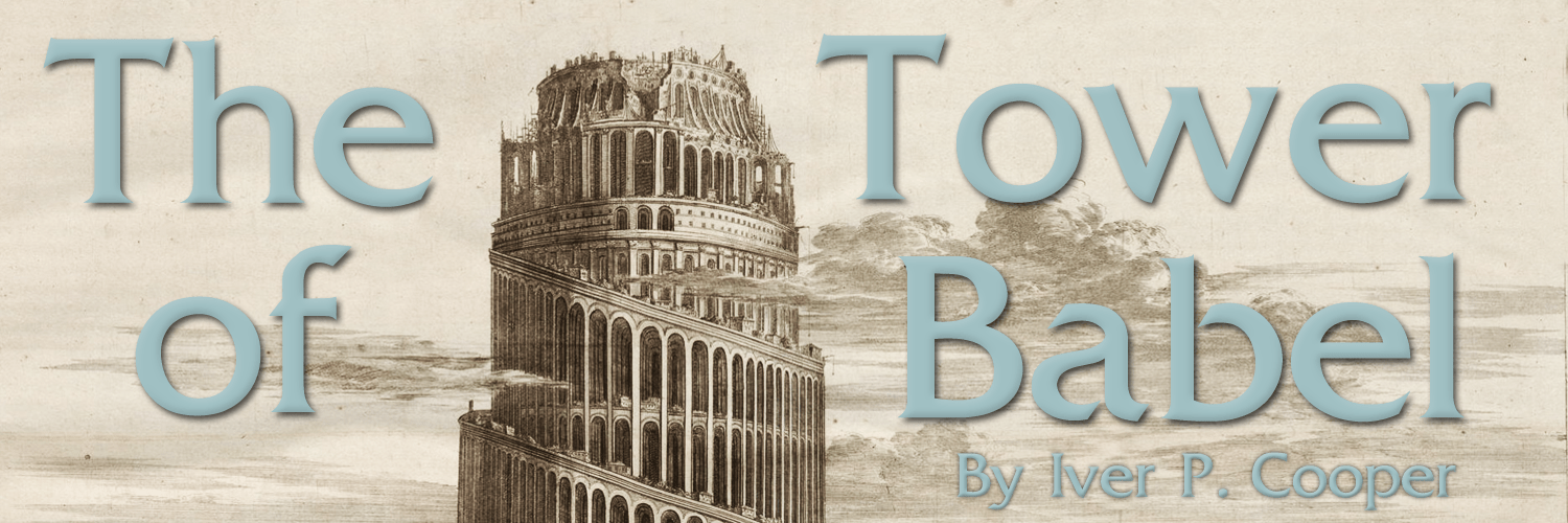 The Tower of Babel banner